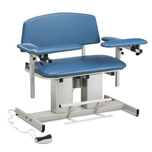 Picture of Power Series, Bariatric, Blood Drawing Chair with Padded Arms
