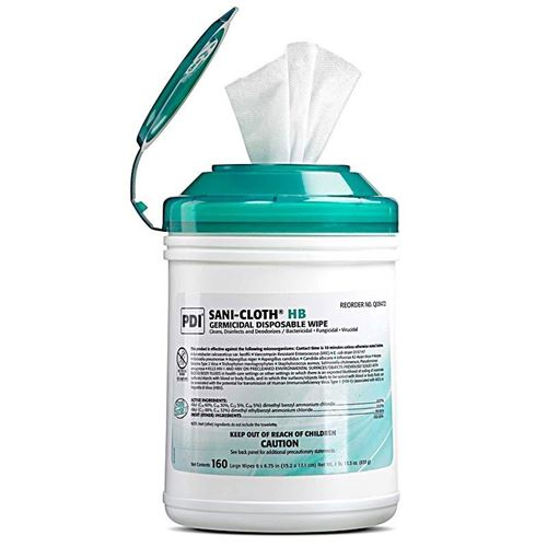 Picture of SANI-CLOTH HB Alcohol Free Germicidal Wipes (160 Wipes)
