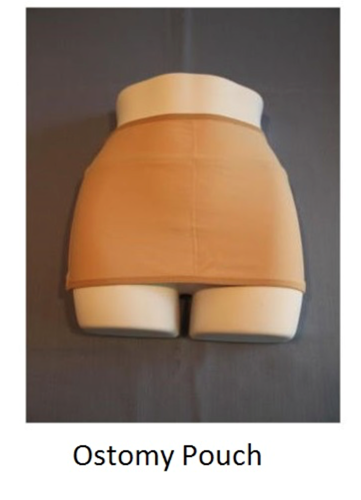 Picture of Ostomy Pouch - Beige, 2X-Large