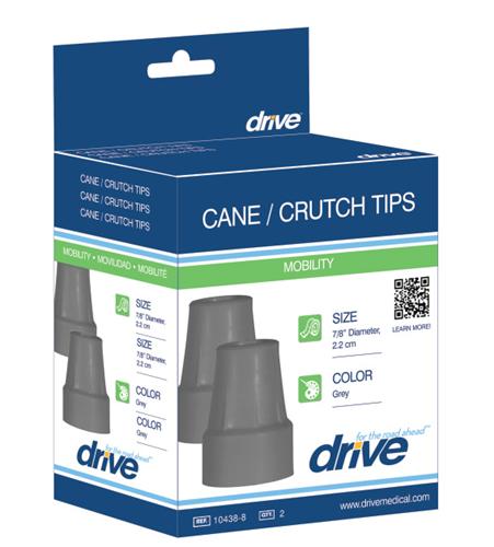 Picture of Crutch Tips (7/8' crutch diameter) case of 8