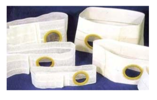 Picture of Nu-Form Support Belt, 6 in., White Regular Elastic, 2XL (119 - 132cm) 3-1/4 in.