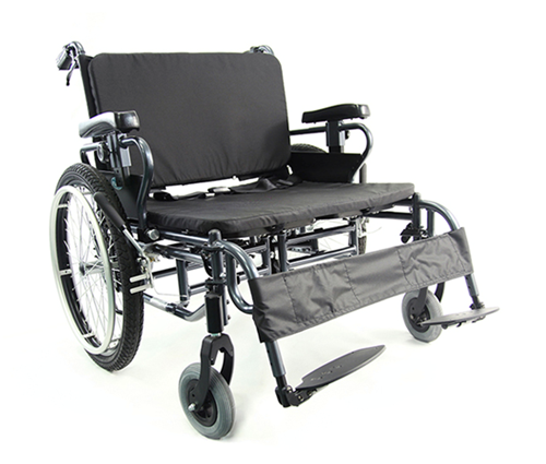 """Picture of BT10 bariatric wheelchair 24""""X20"""