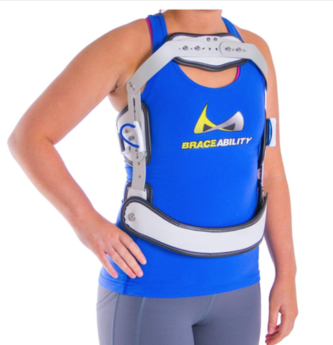 Picture of Hyper-X TLSO Jewett Hyperextension Back Brace Orthosis