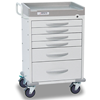 Picture of DETECTO Rescue Series Medical Cart, White