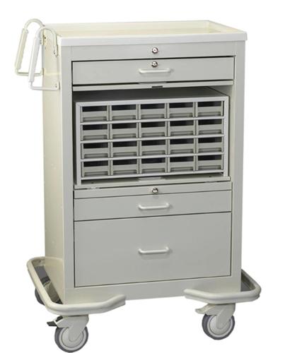 Picture of AliMed® Medication Cart, Beige
