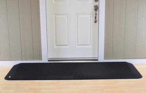 "Picture of Safepath EZ Edge™ Rubber Threshold Ramp 3-1/4"" L x 41-1/2"" W x 1/2"" H"