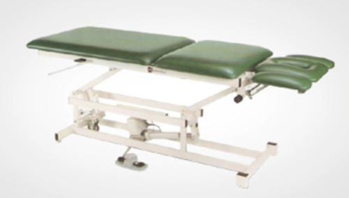 Picture of AM-550 FIVE SECTION TOP / FIXED CTR SEC / TILT DOWN ARMRESTS Treatment Table