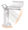Picture of OttLite Classic 2x Magnifier Task Lamp with Swivel Base - White