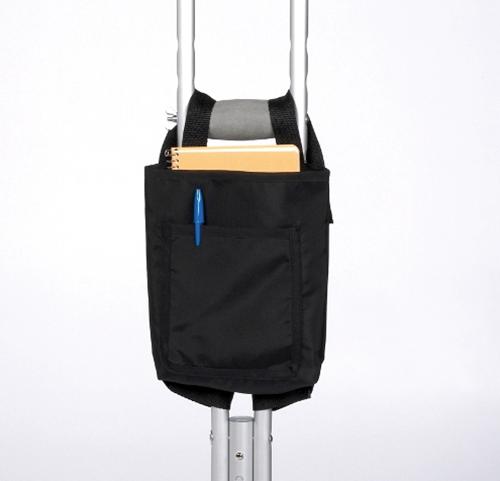 Picture of Crutch Bag, Nylon, Black