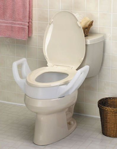 Picture of Bolt-On Toilet Seat w/Arms