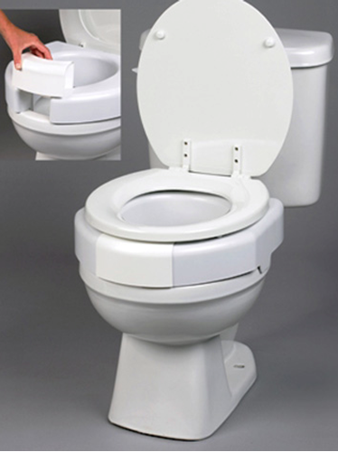 Picture of Secure-Bolt Elevated Toilet Seat**