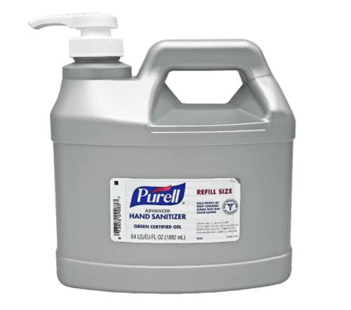 Picture of Purell Half-Gallon Refill Pump (64oz)