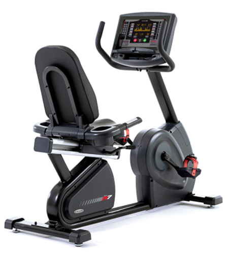 Picture of Circle Fitness R8 Recumbent Bike with LED Console