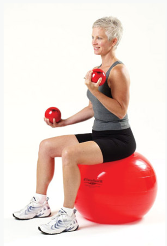 Picture of TheraBand® Soft Weights- Red 3.3 lbs