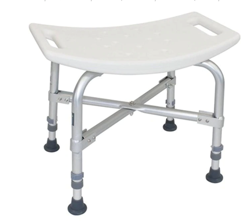 Picture of Deluxe Bariatric Shower Chair with Cross-Frame Brace without back