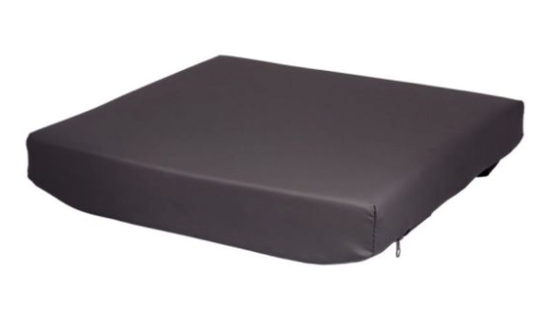 """Picture of 3"""" cushion with 2"""" Gel Visco"""