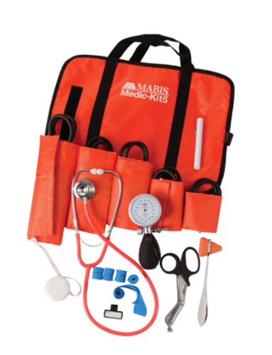 Picture of Mabis All-In-One EMT and Paramedic Kit w/5 Cuffs