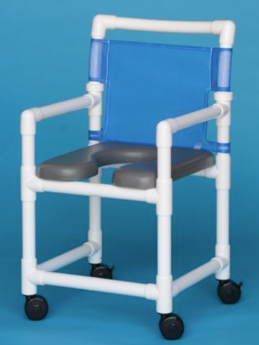Picture of Soft Seat Rolling Shower Chair
