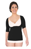 Picture of Active Massage Compression Braless Top, Large/BLK
