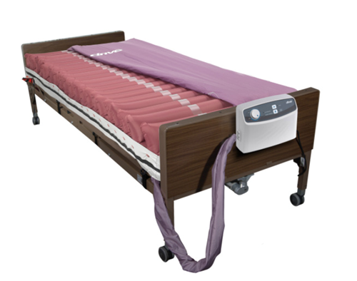 """Picture of Med-Aire 8"""" Alternating Pressure Low Air Loss Mattress System 36"""" (W) X 80"""" (L) X 8"""" (H)"""