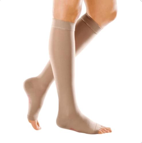 Picture of Medi Forte Open Toe Knee Highs - 30-40 mmHg, VI, Reg/Reg