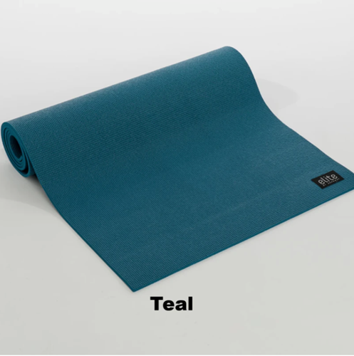 Picture of Aeromat Elite Yoga / Pilates Mat 1/4'' thick, with Harness (6 mm), Teal