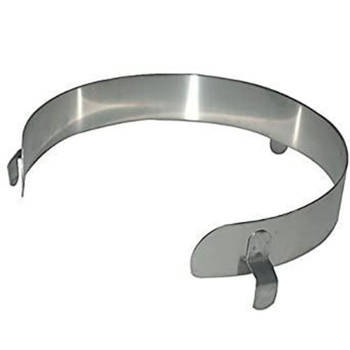 """Picture of Stainless-Steel Food Guard for 9"""" - 11"""" Plates"""