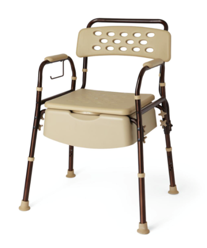 Picture of Bedside Commode with Microban (400 lbs)