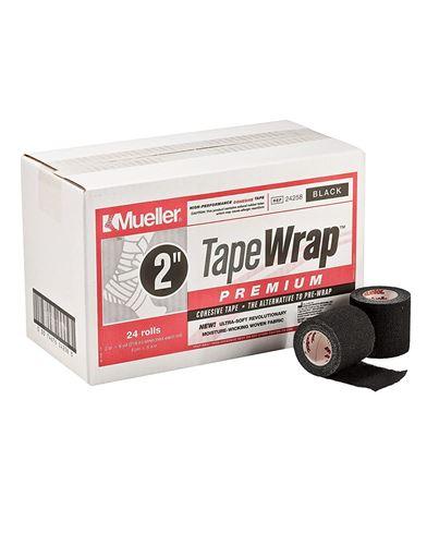"Picture of Tape Wrap Premium, Black, 2""W."