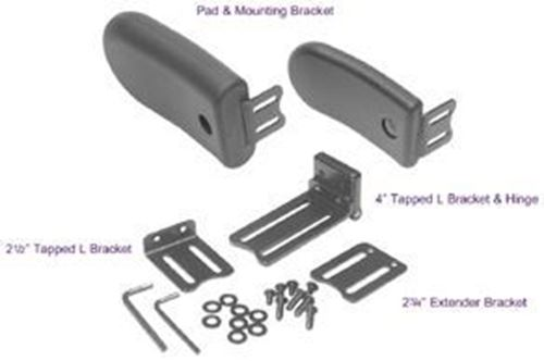 Picture of LATERAL HARDWARE, SWINGAWAY KIT..WITH 4 X 7X 1.5 MOLDED PAD
