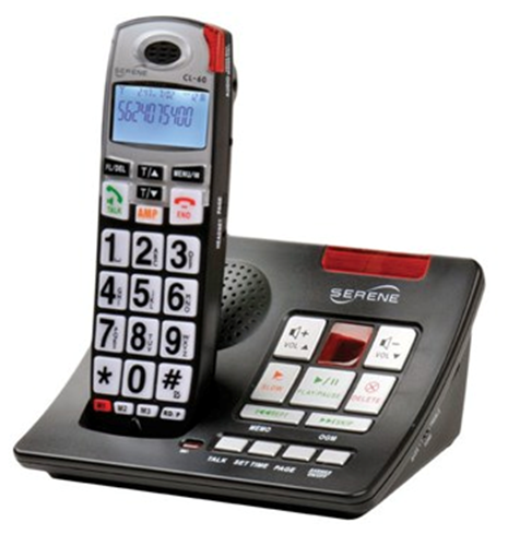 Picture of Serene Amplified Cordless Phone w-Answering Machine