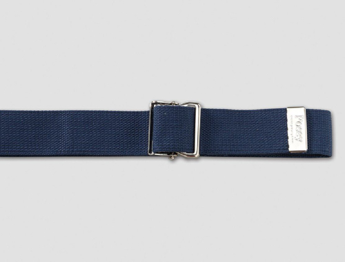Picture of Navy Blue Gait Belt w/Nickel Buckle, 51