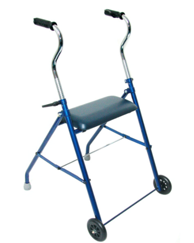 Picture of DMI® Steel Walker with Wheels and Seat
