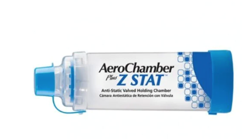 Picture of Monaghan AeroChamber Plus Z Stat Anti-Static Valved Holding Chamber