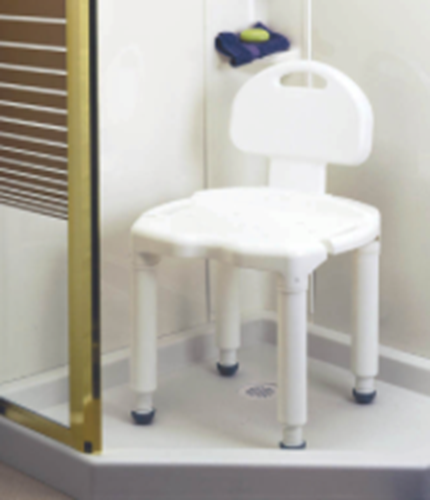 Picture of Carex Universal Bath Seat Bench w/ Back