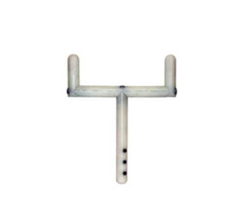 """Picture of 5-3/4"""" Goalpost Handle Joystick Extension for Power Chairs with P&G Controllers"""