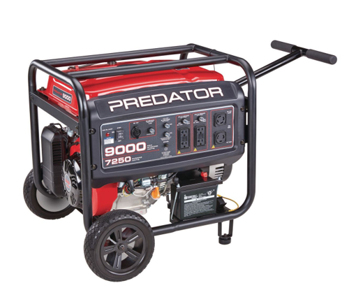 Picture of 9000 Watt Max Starting Extra Long Life Gas Powered Generator - CARB