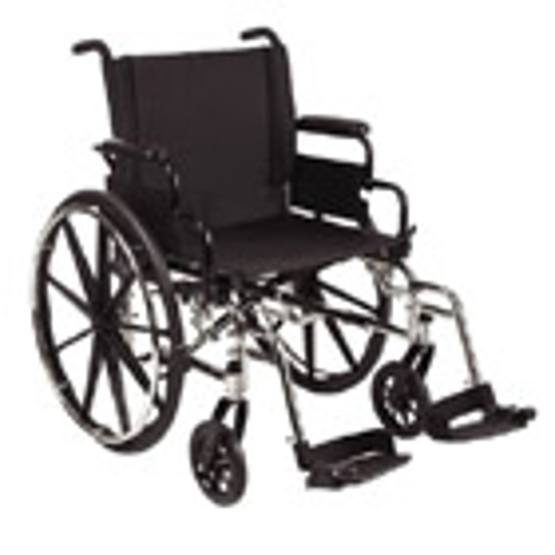 """Picture of 9000 XDT Wheelchair 20""""X20"""" Seat Height"""