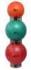 Picture of Inflatable Exercise Ball - Accessory - 3 Ball Stacker Rings: