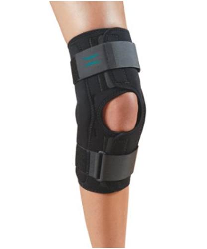 "Picture of Knapp™ Hinged Knee Orthosis - Anterior Closure 16"" ( 40.6cm), XL"