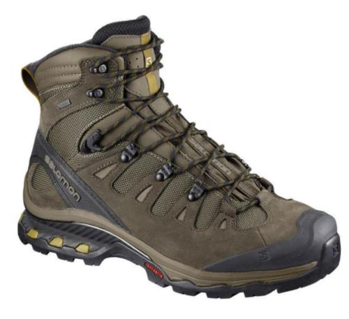 Picture of Salomon Men's Quest 4D 3 GORE-TEX Hiking Boots - Wren - Size 13