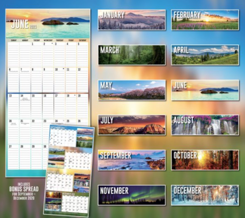 Picture of Big Grid Wall Calendar