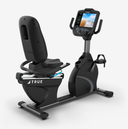 """Picture of True RC900 Recumbent Bike with Envision 9"""" Touchscreen"""