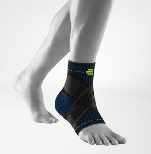 Picture of Sports Ankle Support- Black, Right, Medium