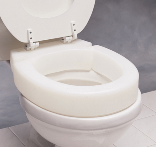 Picture of Hinged Elevated Toilet Seats-Elongated
