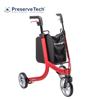 Picture of PreserveTech Nitro 3-Wheel Rollator-Red