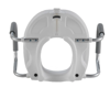 Picture of Molded Raised Toilet Seat with Removable Arms