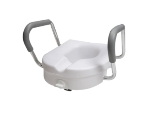 Picture of Locking Raised Toilet Seat with Arms