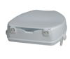 Picture of Molded Raised Toilet Seat with Lid