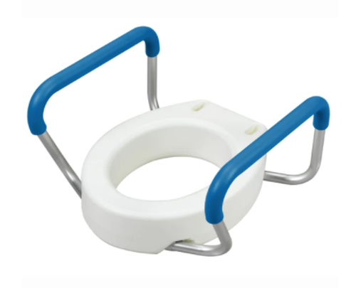 Picture of Toilet Seat Riser with Removable Arms